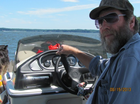 Mike Drive Boat 08 2013