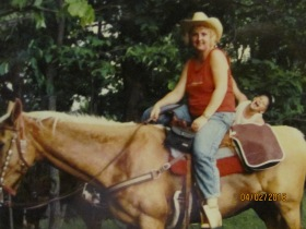 Linda Riding Dusty.JPG