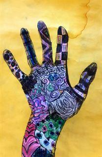Harley Hand Art 2016