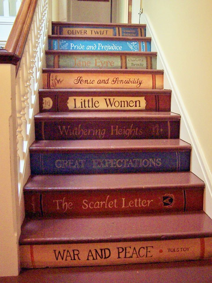 Steps Books Photo