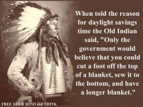 Day LIght Savings Time Indian