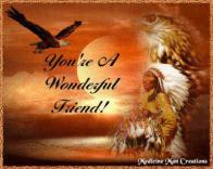 Indian Eagle Yore A Wonderful Friend